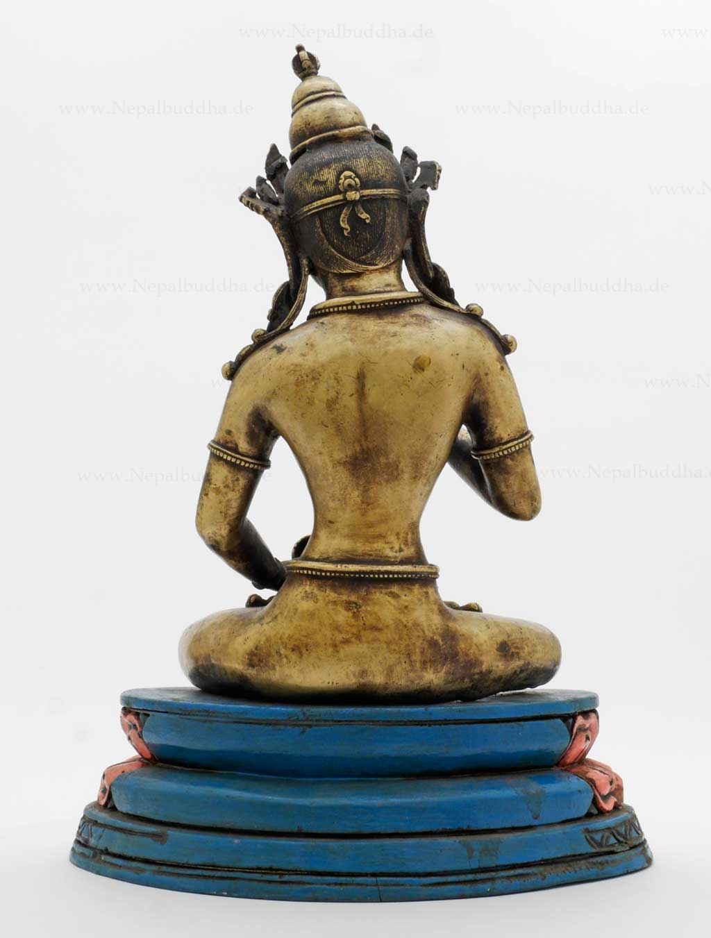 vajrasattva dorje sempa bronze kg figurine art statue sculpture asia tibet ebay. Black Bedroom Furniture Sets. Home Design Ideas