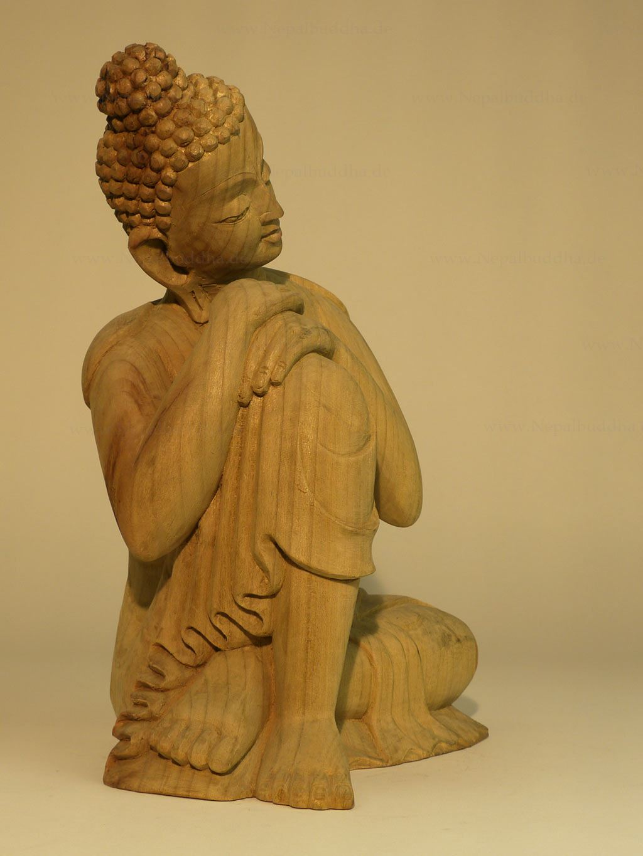 buddha statue great quality 1 65 kg buddhism sculpture wood nepal. Black Bedroom Furniture Sets. Home Design Ideas