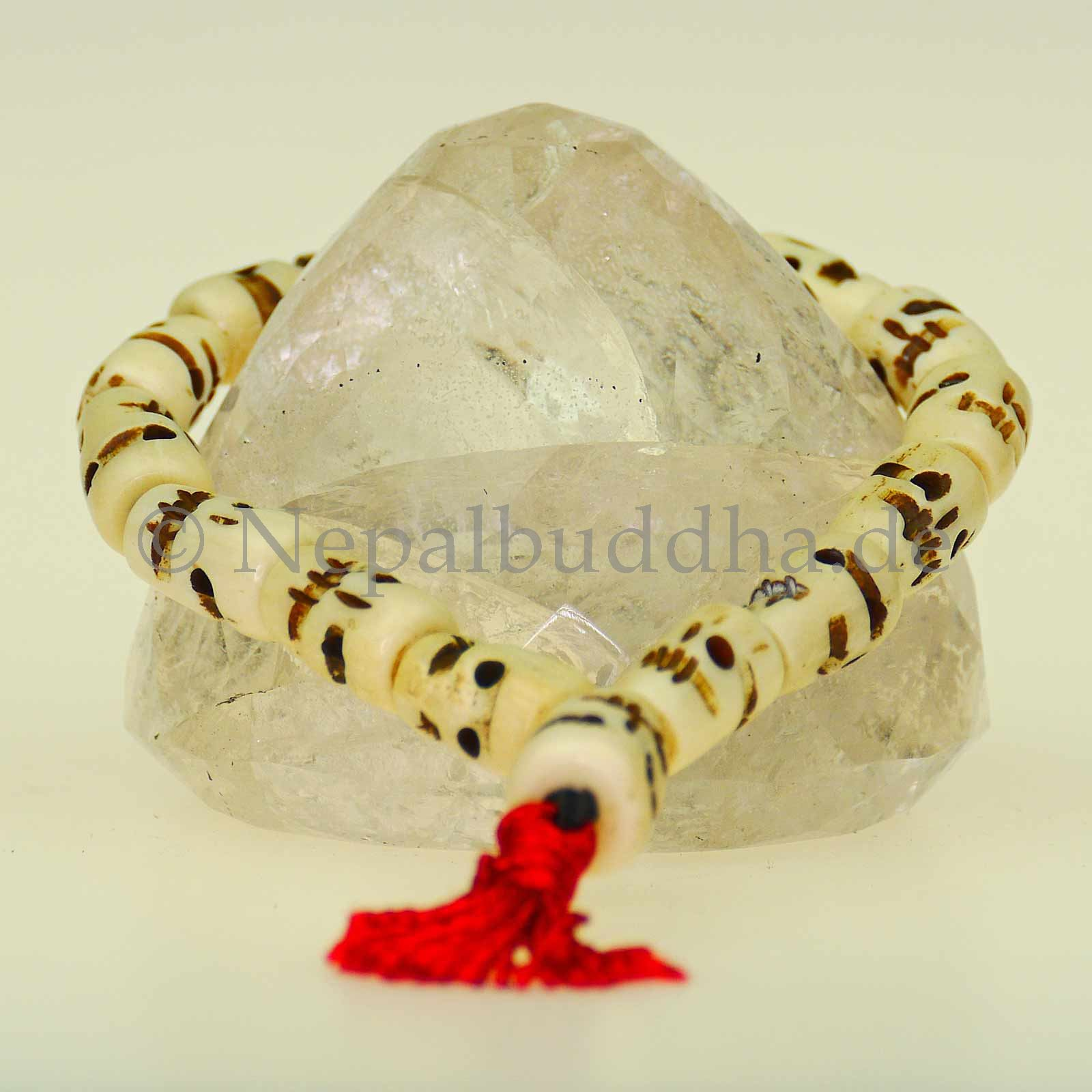 Armband Knochen Totenkopf Schädel Knochenschmuck Nepal Schmuck Asien s56