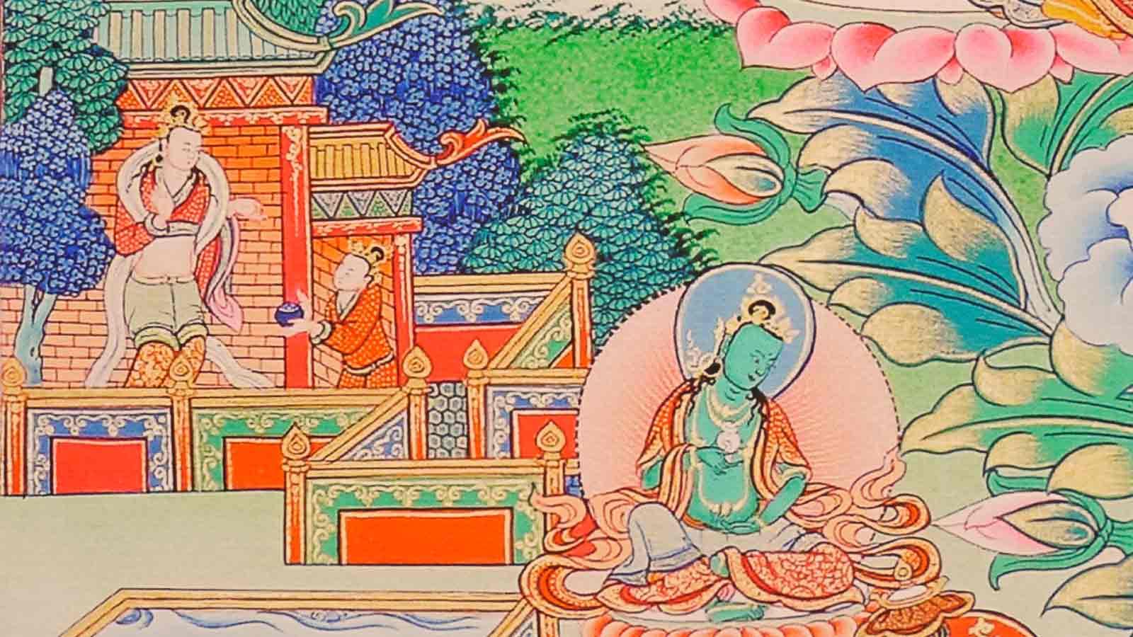 Details about Thangka Akshobhya